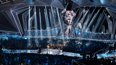 Le fixture GLP agli MTV Video Music Awards